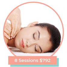 60 Min Massage 8 Sessions