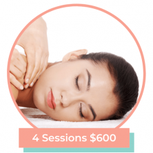 custom massage bundle 4 sessions