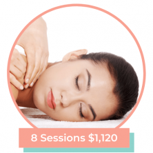 custom massage bundle 8 sessions