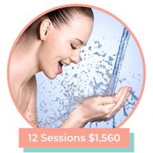skinbreather facial bundle 12 sessions